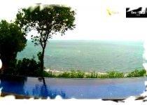 Webcam Phangan - Chao Phao beach and sunset