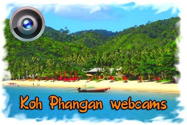 Best webcams Koh Phangan - see now
