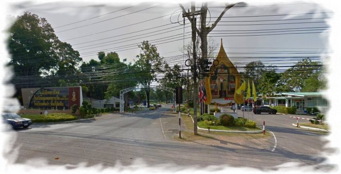 Turn right onto Sai Kaew beach from Sukhumvit Road