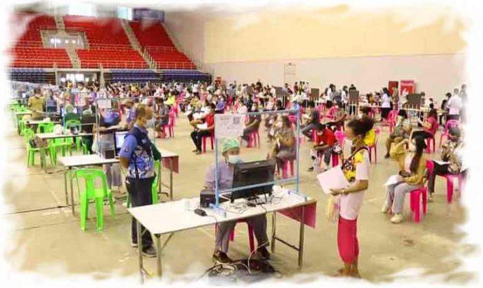 Covid-19 Vaccination Center in Pattaya